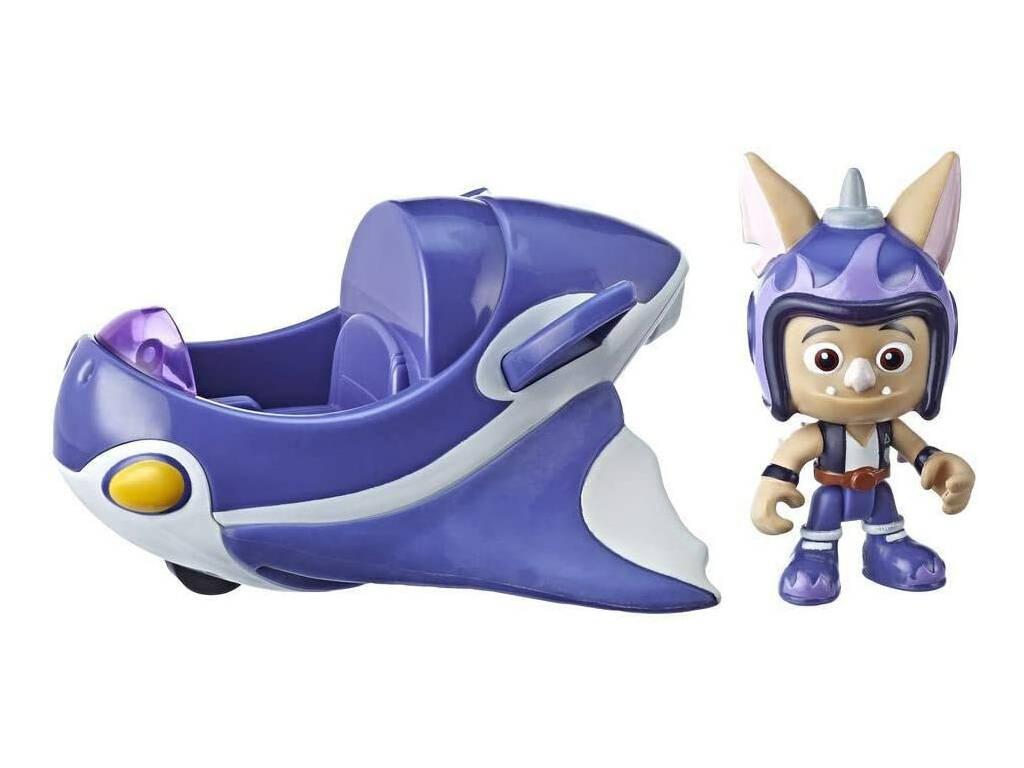 Top Wing Vehículo y Figura Baddy Hasbro E5822