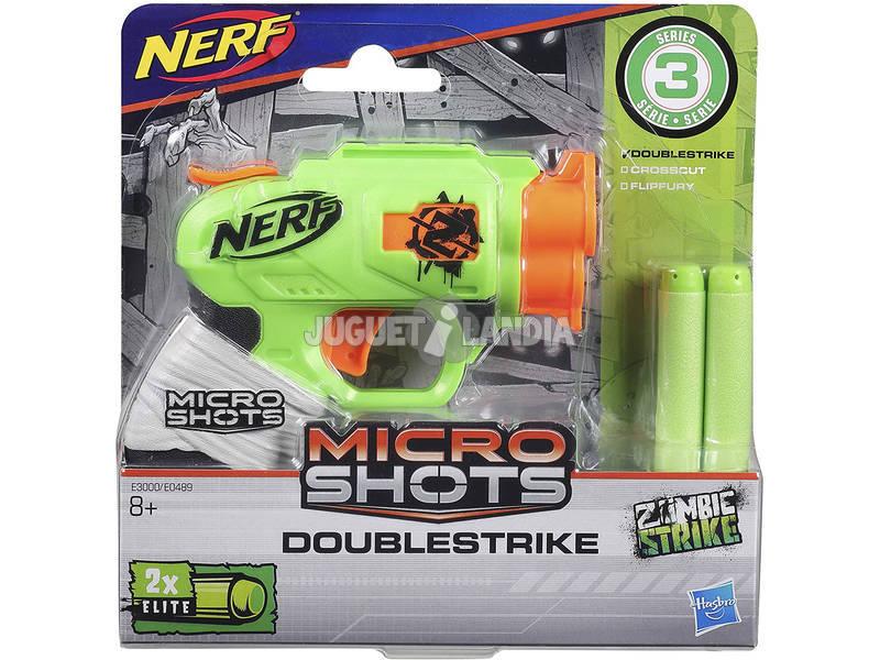 Nerf Microshots Doublestrike Zombie Strike SE 3 Hasbro E3000EU40