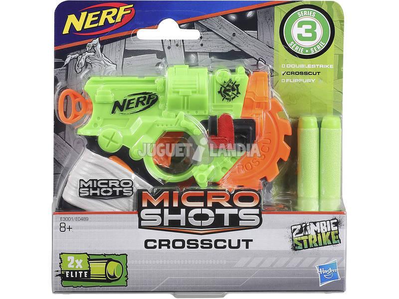 Nerf Microshots Crosscut SE 3 Hasbro E3001EU40