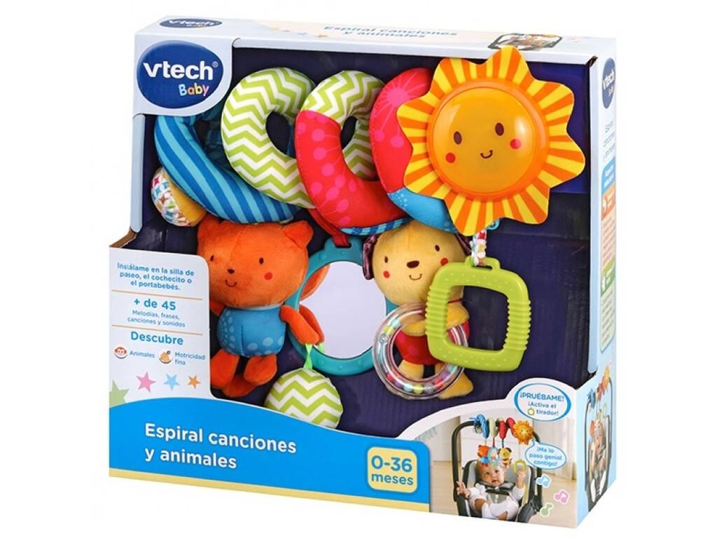 Espiral Canciones y Animales Vtech 522122
