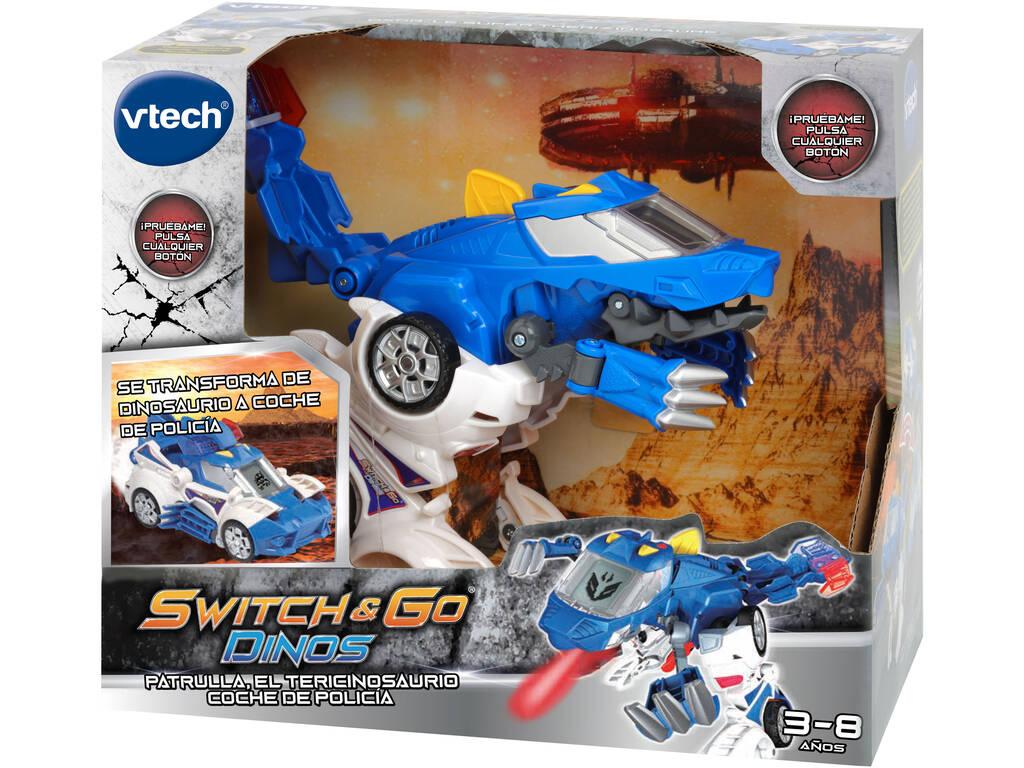 Switch & Go Dinos Patrulla Vtech 195022