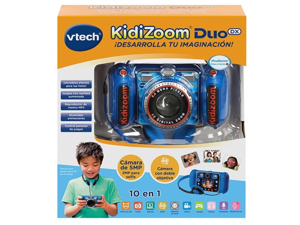Kidizoom Duo DX 10 En 1 Bleu Vtech 520022