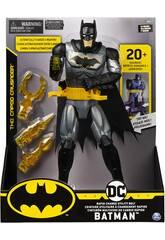 Batman Figurine 30 cm. con Ceinture Multi-fonction de Changement Rapide Bizak 6192 7809