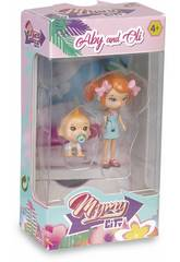 Figura Mimy City Serie 1 Aby & Oli Famosa 700015444