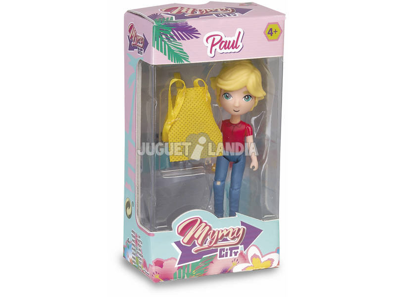 Figura Mimy City Serie 1 Paul Famosa 700015444
