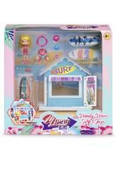 Mimy City Kit Boutique De Surf Avec Figurine Wendy Wave Famosa 700015596