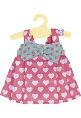 Nenuco Petits Vêtements. 42 cm. Avec Cintre Petits Coeurs Famosa 700012824