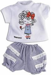Nenuco Roupinha Casual 35 cm. Desenho Boneca Famosa 700013822