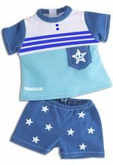 Nenuco Petits Vêtements Décontractés 35 cm.Ensemble Bleu Famosa 700013822