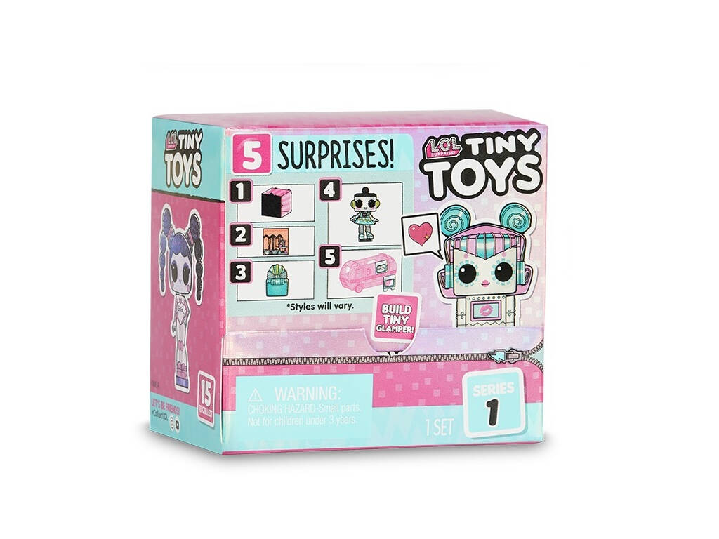 LOL Surprise S{erie 1 Tiny Toys Giochi Preziosi LLUB5000