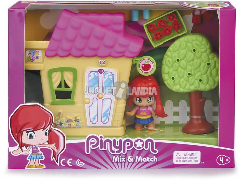 Pinypon Mini Casita Amarilla con Figura Famosa 700015606