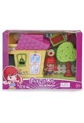 Pinypon Mini Casetta Gialla con Figura Famosa 700015606