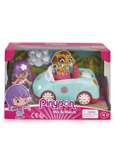 Pinypon Voiture avec Figurine Famosa 700015652