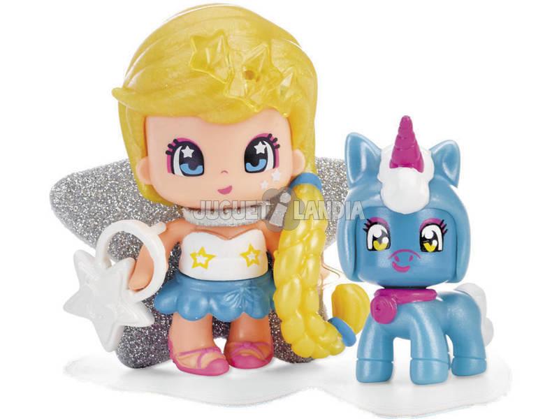Pinypon Estrella y Mascota Azul Famosa 700015732