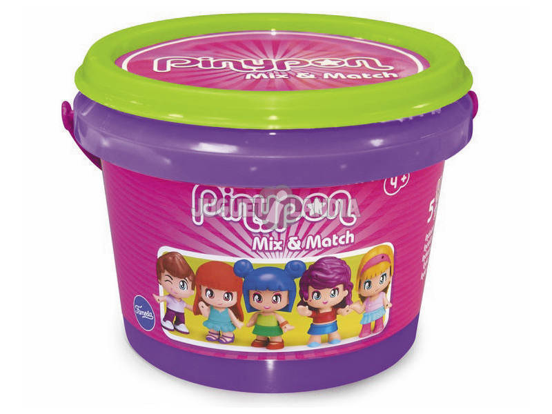 Pinypon Cube avec 5 Figurines Famosa 700015655
