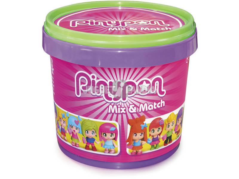 Pinypon Cubo Grande con 10 Figuras Famosa 700015656