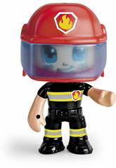 Pin et Pon Action Figurine Urgence Pompier Famosa 700014491