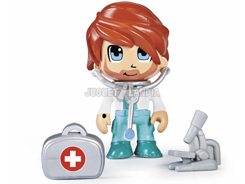 Pin y Pon Action Serie 2 Figura Doctor Famosa 700015147