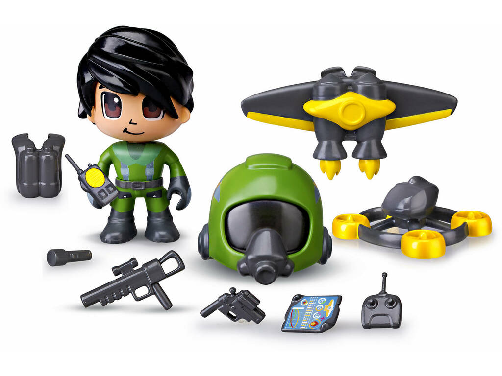 Pinypon Action Set Jet Pack Famosa 700015051