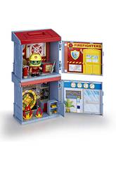 Pinypon Action 2 Mixópolis Feuerwehrmannstation und Bank Boxes von Famosa 700015714