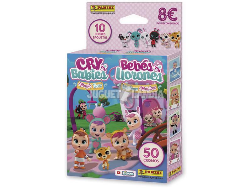 Bébés Pleureurs Ecoblister10 Enveloppes Panini 3971KBE10