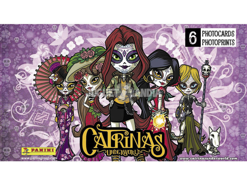 Catrinas Underworld Enveloppe Photocards Panini 3911B6