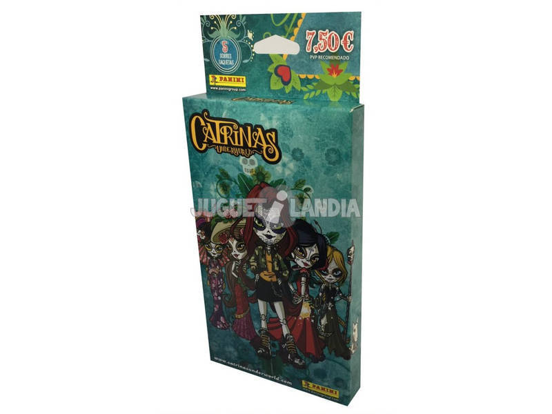 Catrinas Underworld Ecoblister 5 Sobres Panini 3911KBE5