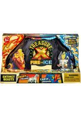 Treasure X Serie 4 Bestias Fuego Vs Hielo Famosa 700015741