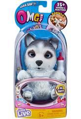 Little Live Pets Omg Cachorro Huskle Famosa 700015739