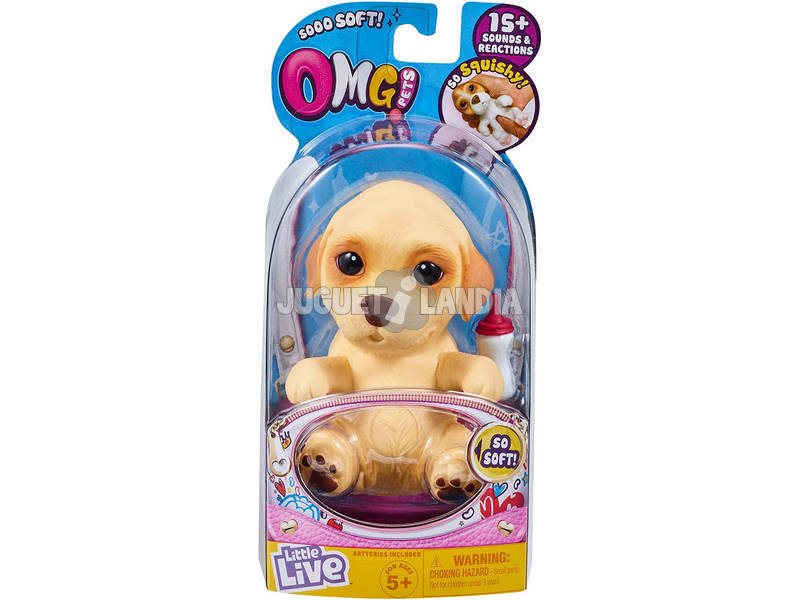Little Live Pets OMG Petit Chien Labbie Famosa 700015739