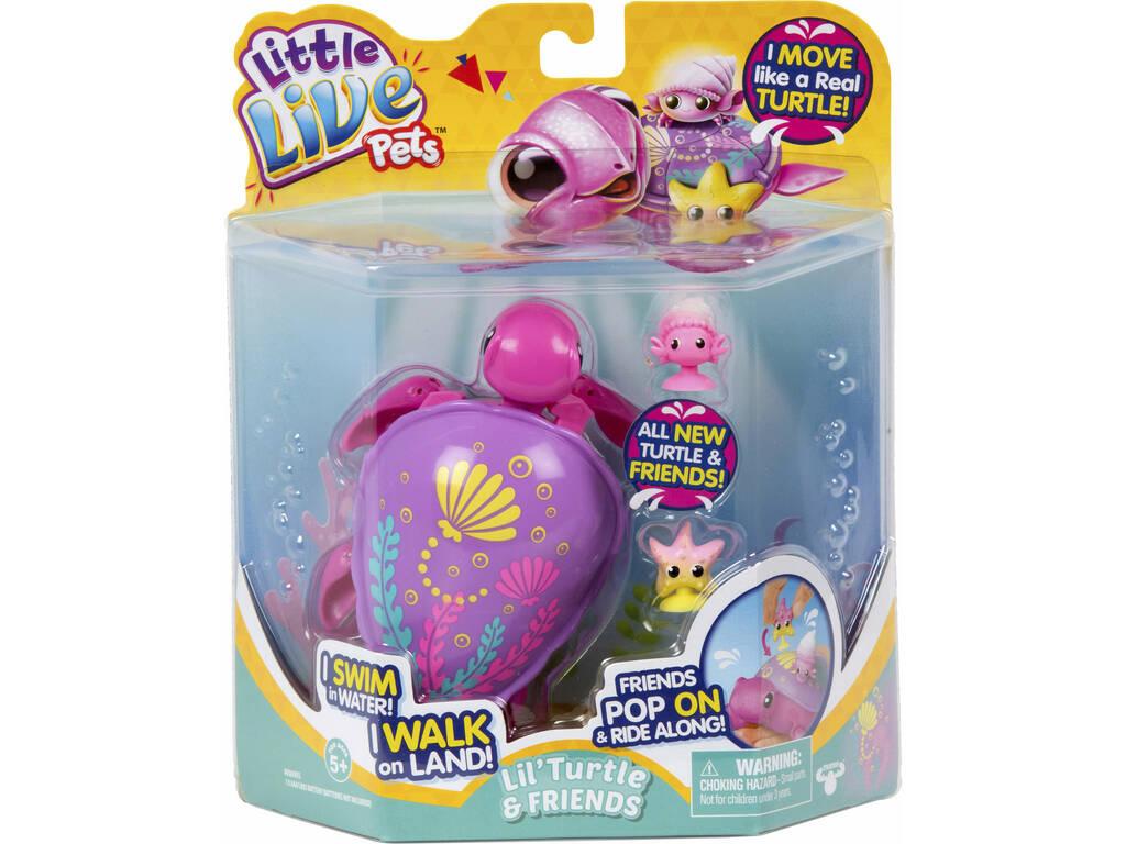 Little Live Pets Tortuga Molona Arrecife Famosa 700015180