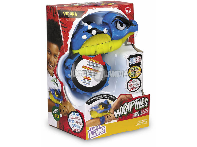 Little Live Pets Wrapples Wraptiles Vipora Famosa 700015403