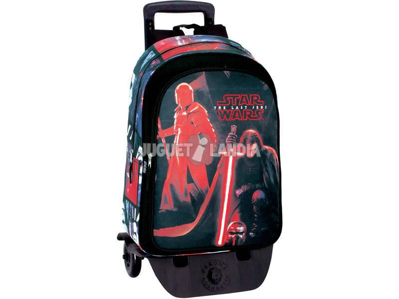 Day Pack con Carro Star Wars The Last Jedi Montichelvo 55803