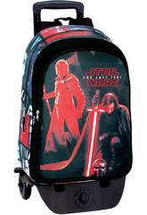 Day Pack com Carro Star Wars The Last Jedi Montichelvo 55803