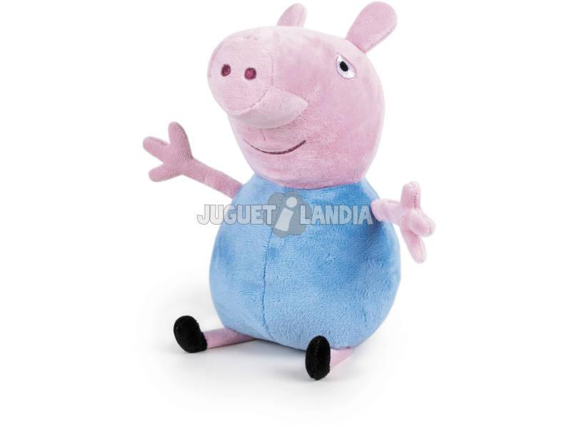 Peluche Peppa Pig George 20 cm. Famosa 760011861