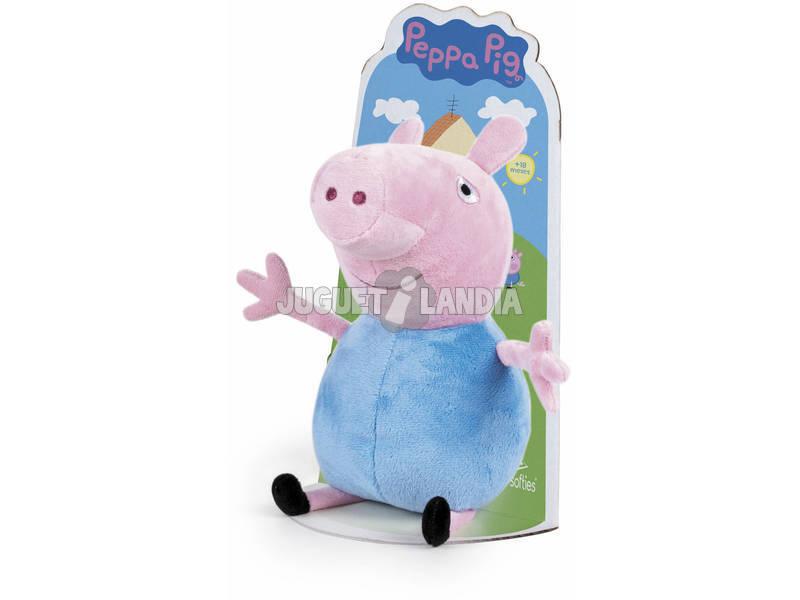 Peluche Peppa Pig George 27 cm. Famosa 760011862