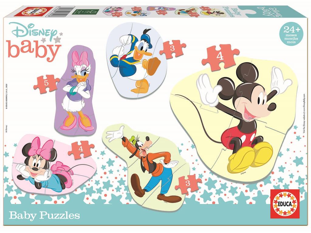 Baby Puzzle Mickey & Friends Educa 18590