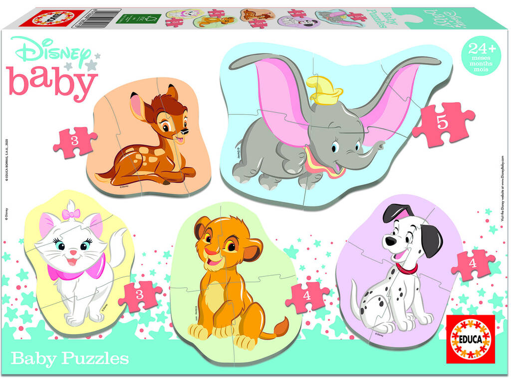 Baby Puzzle Disney Animals Educa 18591