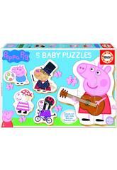Puzzle Baby Peppa Pig Educa 18589