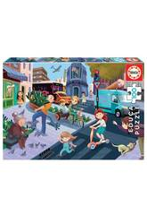 Puzzle 100 En La Ciudad Educa 18605