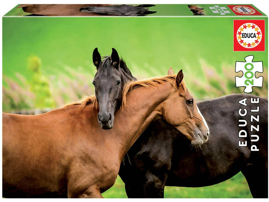 Puzzle Junior 200 Caballos Educa 18608