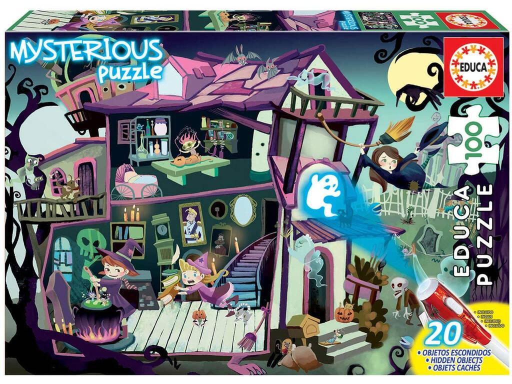 Puzzle Junior 100 Mysterious Casa Encantada Educa 18611