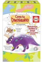 Crie e Molde o seu Triceratops Educa 18363