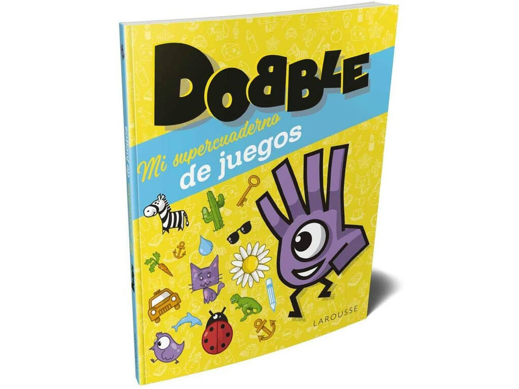 Dobble Mi Super Cuaderno de Juegos Asmodee LRGBDO01ES