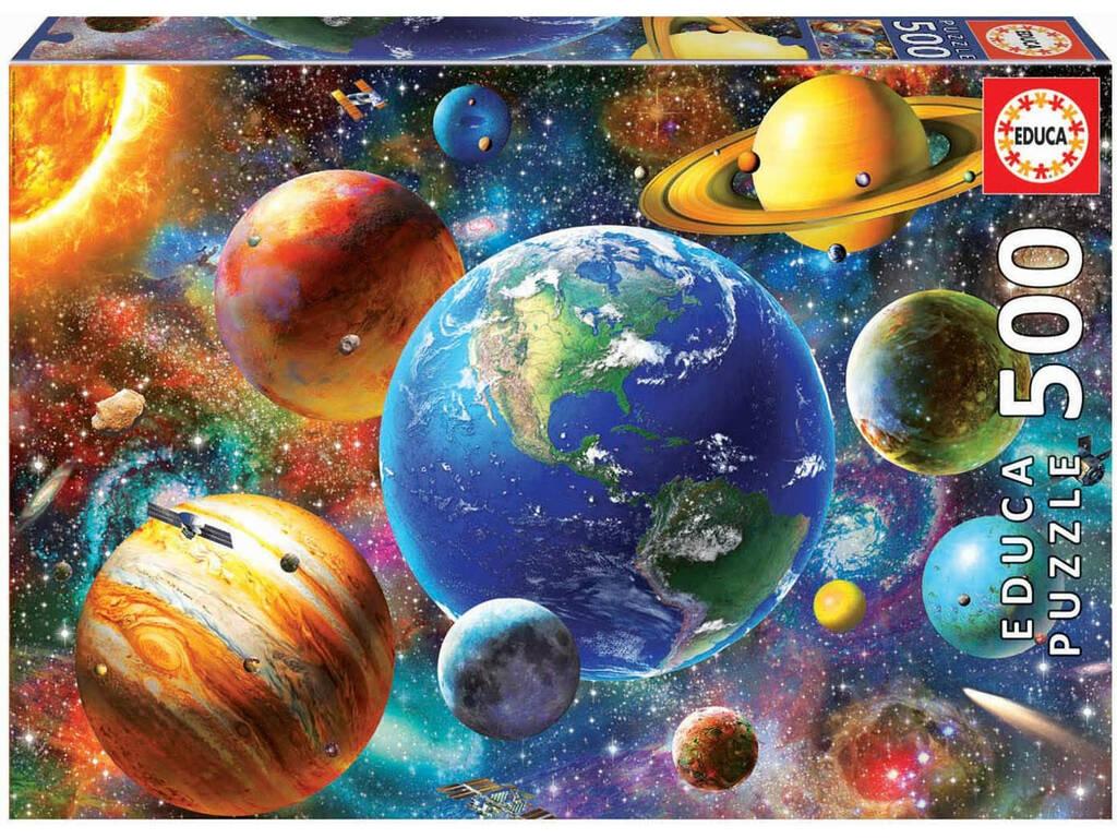 Puzzle 500 Sistema Solar Educa 18449