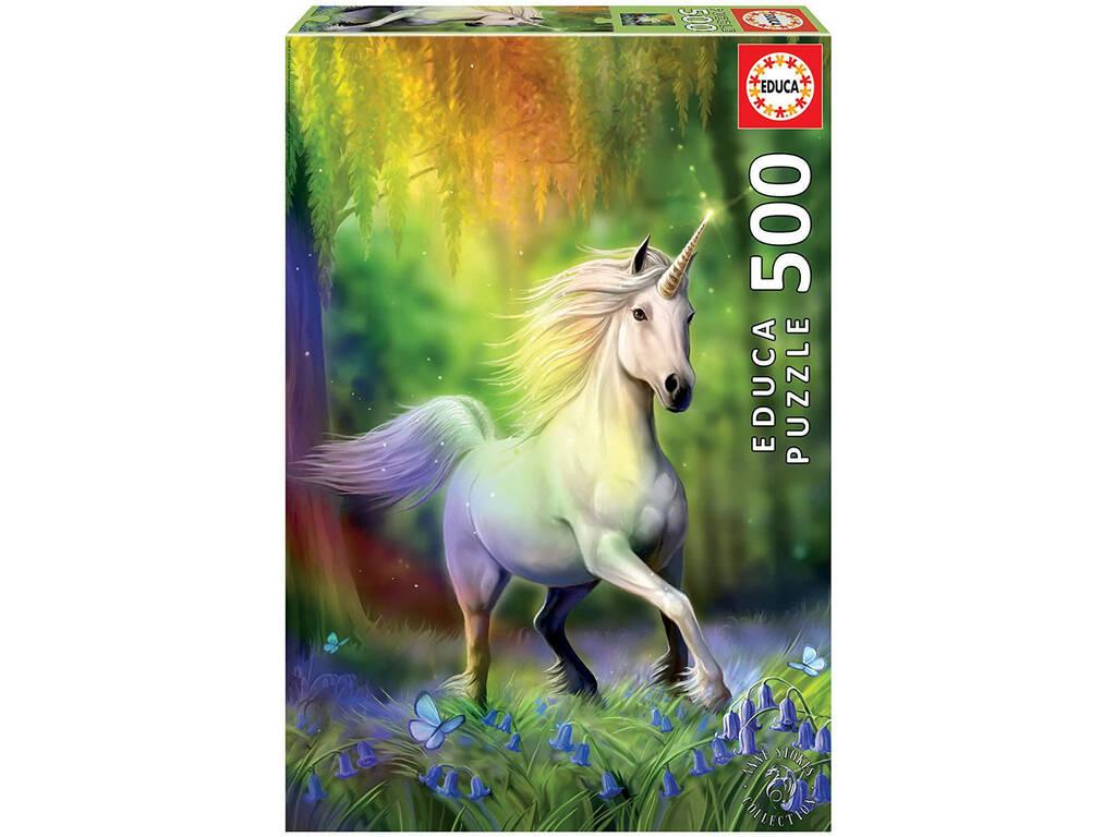 Puzzle 500 Persiguiendo El Arcoíris Educa 18448