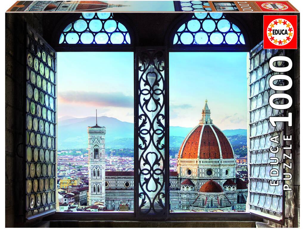Puzzle 1000 Vistas De Florencia Educa 18460