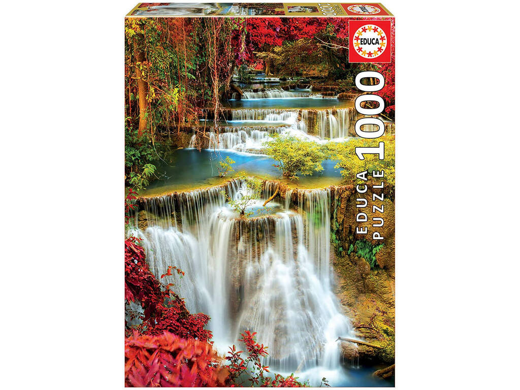 Puzzle 1000 Catarata En El Bosque Educa 18461