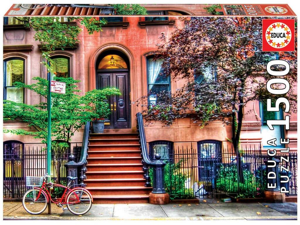 Puzzle 1500 Greenwich Village, Nueva York Educa 18502