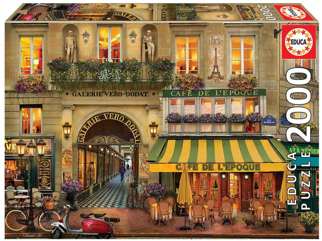 Puzzle 2000 Galerie París Educa 18506